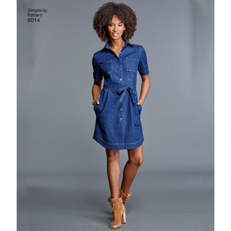 Dress patterns edit: Shirt Dresses | Sewdirect