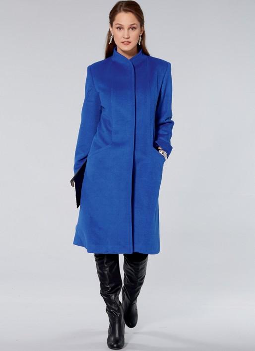 Winter Wardrobe Sewing Pattern, Ladies Winter Coat Sewing Pattern